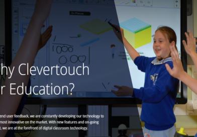 Clevertouch digital Classroom Technology Stoneleigh