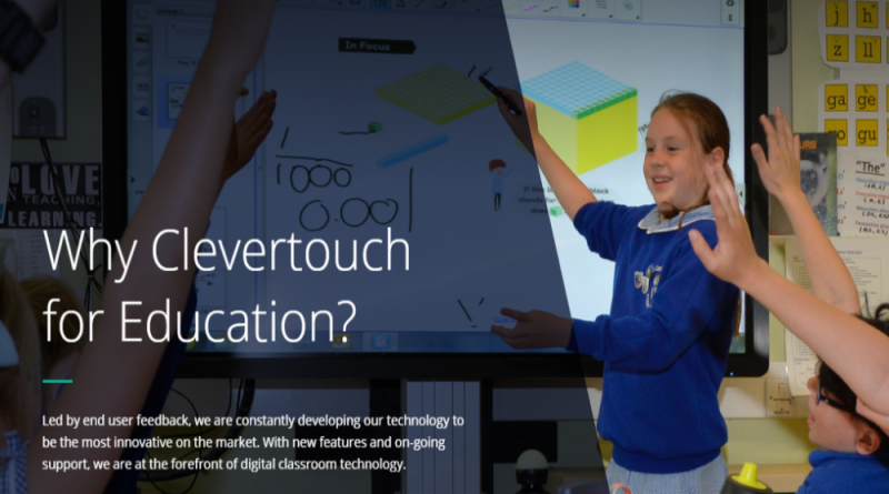 Clevertouch digital Classroom Technology Stoneleigh