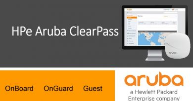 HPe Aruba ClearPass, Secures Wireless and Wired Network