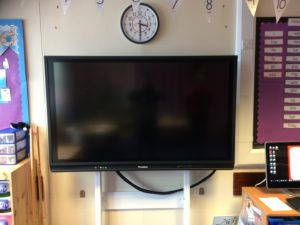 Belvidere Primary School Promethean V6 Panel 65 inch Stoneleigh