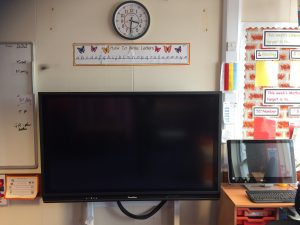 Primary School Promethean V6 Panel 65 inch Stoneleigh