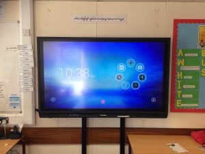 AV Panel Upgrade Promethean V6 65 inch Wall Mount