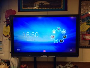 UK Primary School AV Panel Upgrade Promethean V6