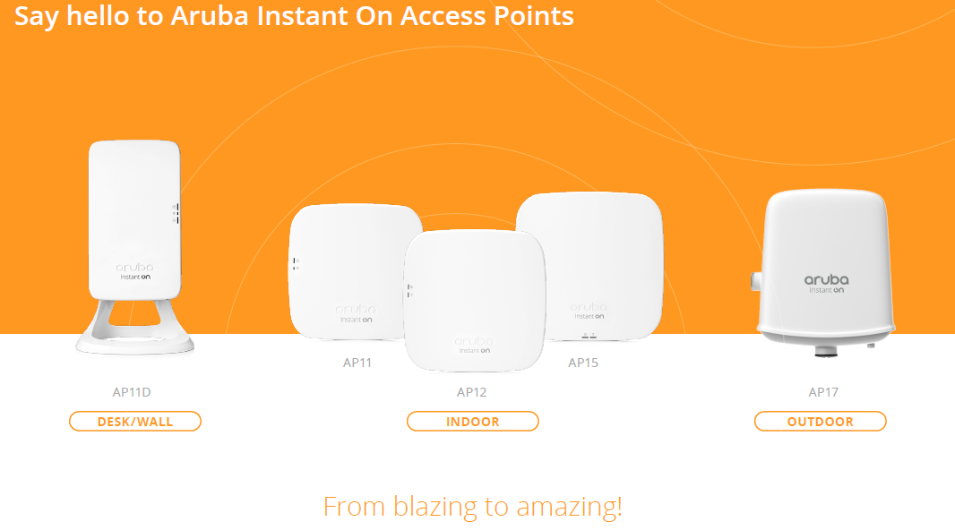 Aruba Instant On Access Points