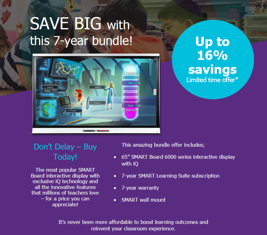 SMART 7 Year Bundle Summer Offer