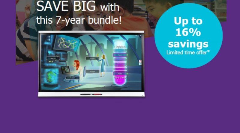 Smart Board 7 Year Bundle Savings