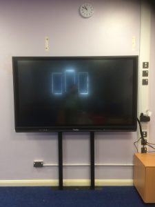 Promethean ActivPanel 75 inch with RA Studfix Mount, Prees Primary Installation by Stoneleigh Consultancy