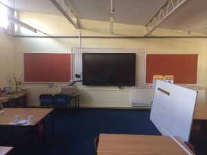 Prees School, Promethean 75 inch V6 Panel, installed by Stoneleigh Consultancy Ltd