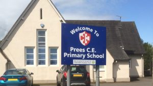 Prees Primary School Shropshire Promethean