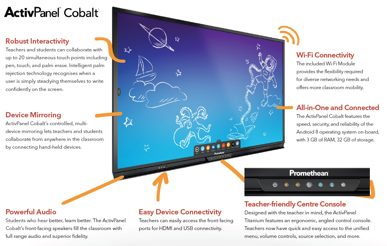 Promethean Elements ActivPanel Cobalt
