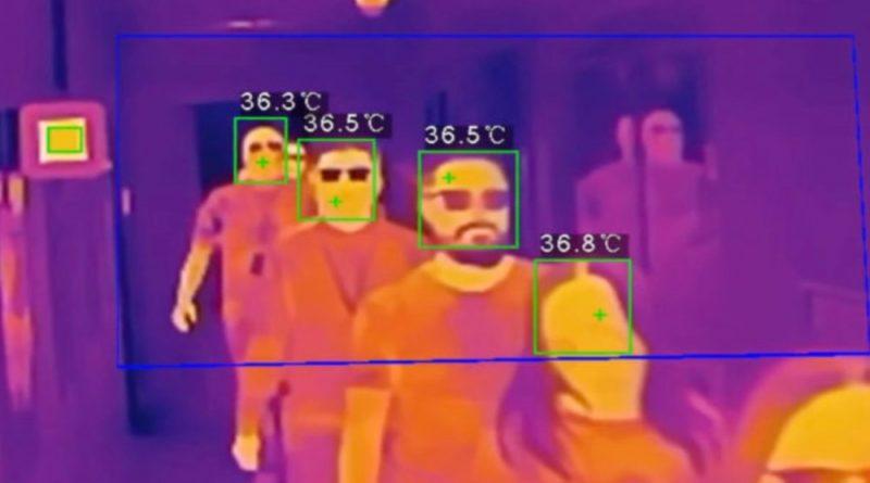 Infrared-heat-camera