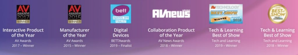 Award Winning Clevertouch AV Solution