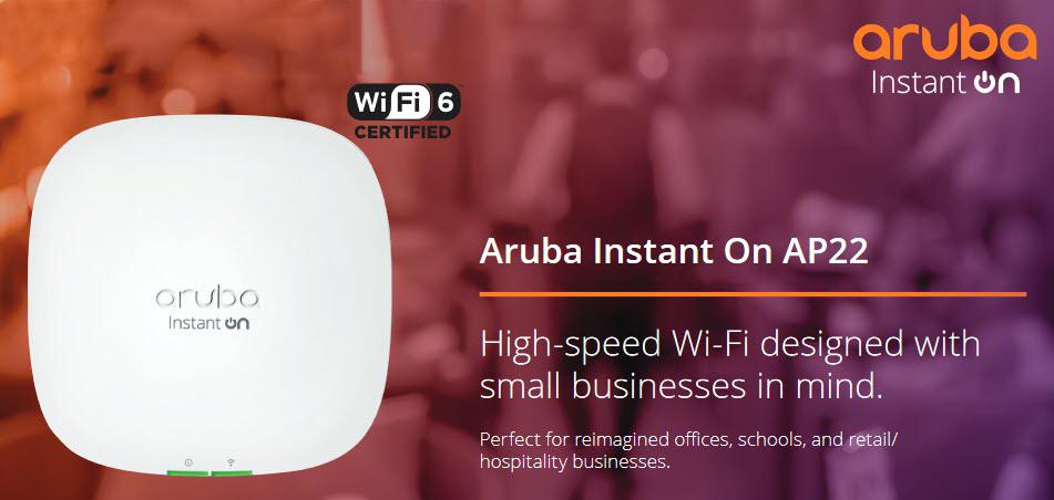 Aruba AP22 WiFi 6