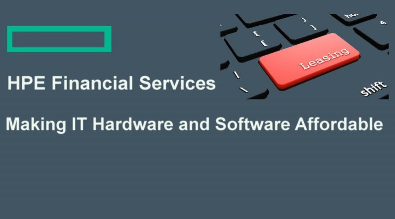 HPE Flexible IT Financing Options