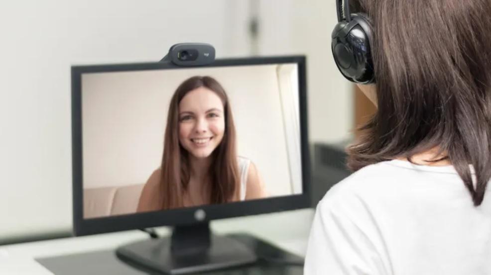 Logitech C270 HD Webcam Auto light correction