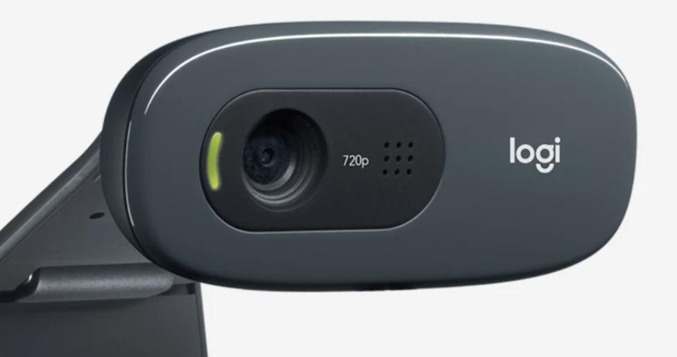Logitech C270 HD Webcam Mono Noise Reducing Mic