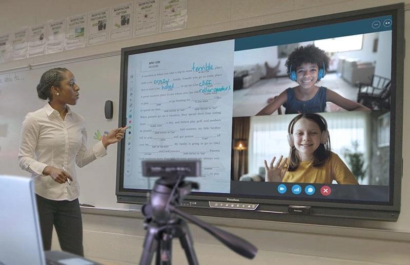 Promethean Distance Learning Bundle Web Cam Tripod