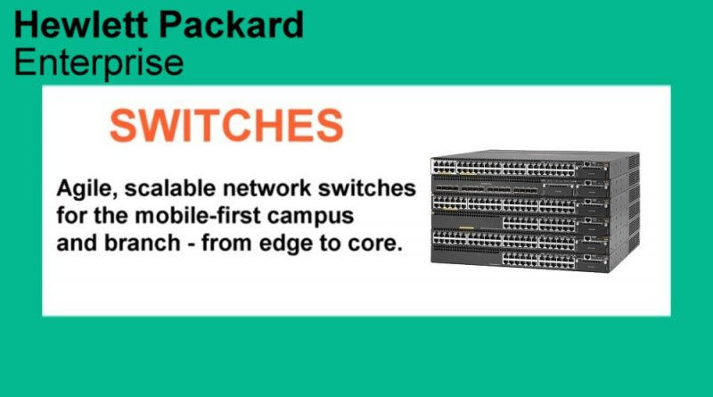 HPe Switches Feature Networking