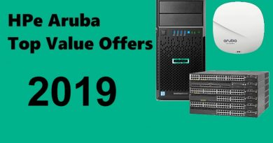 HPe Aruba Offers 2019