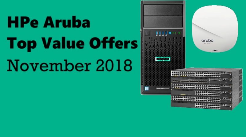 HPe Aruba Special Offers Novemeber 2018