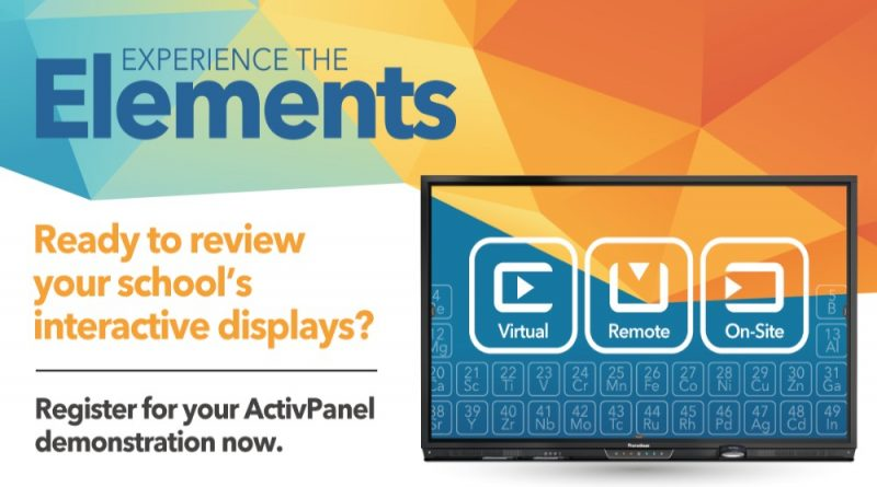 Promethean Elements ActivPanel Demonstration