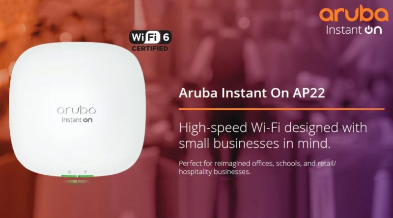Aruba WiFi 6 AP22 New