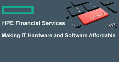 HPE Flexible IT Financing Options