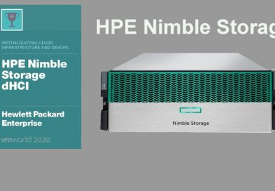 HPE Nimble Storage VMworld Winner 2020