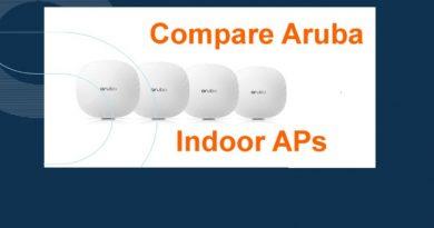 Indoor Aruba Access Points Comparison 2
